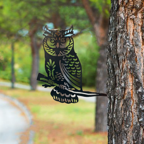 GA10019 - Owl with Branch 370 x 185
